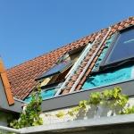 plaatsen van nieuwe Fakro dakramen