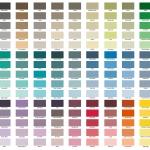 kleurenkaart Abbondanzakrijtverf en soft silk